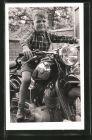 Bild zu Foto-AK Motorrad ...
