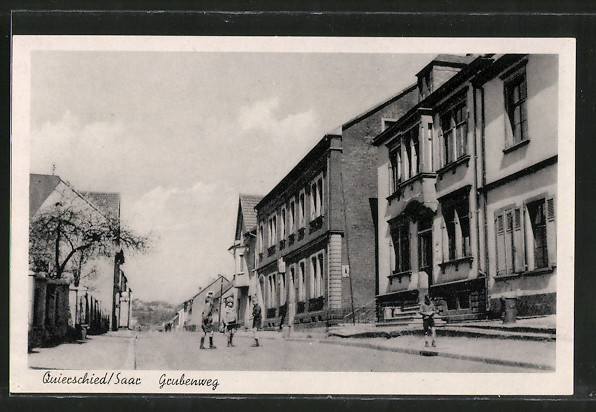 AK Quierschied, Strassenpartie Grubenweg