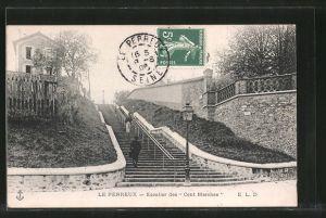 AK Le Perreux, Escalier des