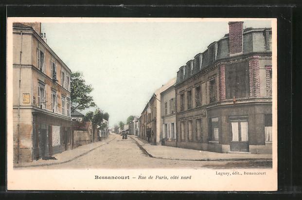 AK Bessancourt, Rue de Paris