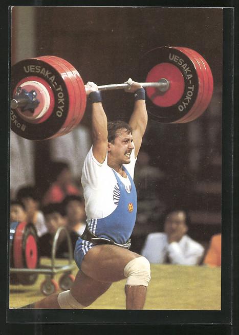 AK Olympiasieger 1988 in Gewichtheben Joachim Kunz