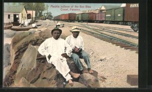AK Panama, Machie Indians of the San Blas Coast