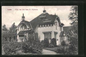 AK Leens, Villa van den heer P. Dijkhuis