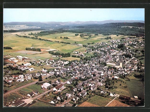 Ak Driedorf Blick über Den Ort Vom Flugzeug Aus Nr 7166693