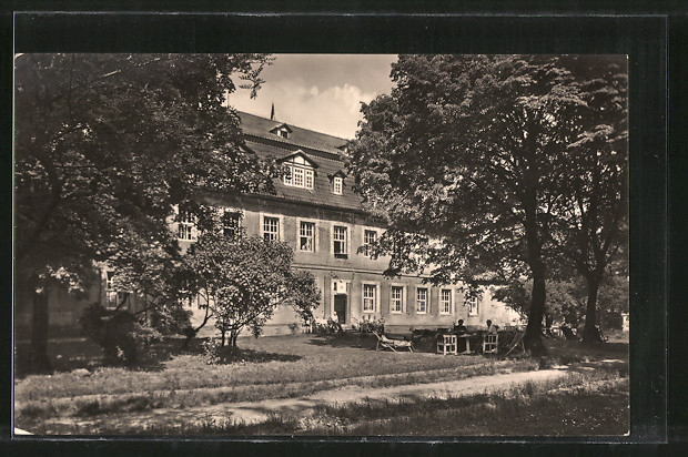 AK Lengenfeld unterm Stein, FDGB-Erholungsheim