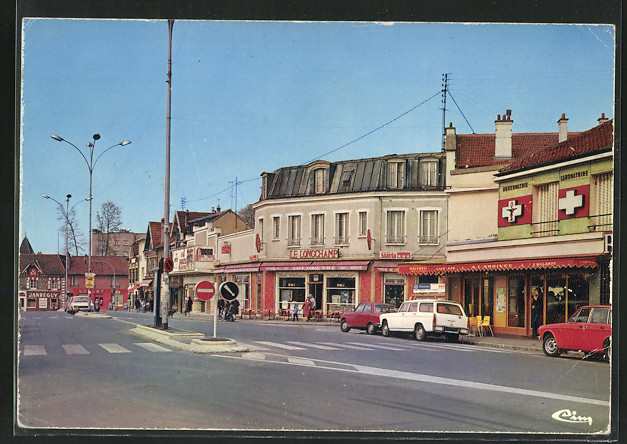 AK Villiers-sur-Marne, La place de la gare