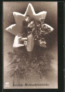 Herzliche Weihnachtswünsche.Herzliche Weihnachtswünsche Nr 16411 Oldthing Ansichtskarten
