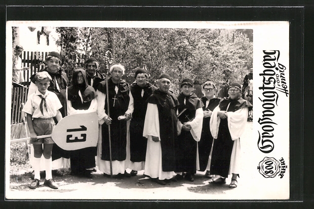 AK Grossvoigtsberg, Volksfest zum 800 jährigen Jubiläum