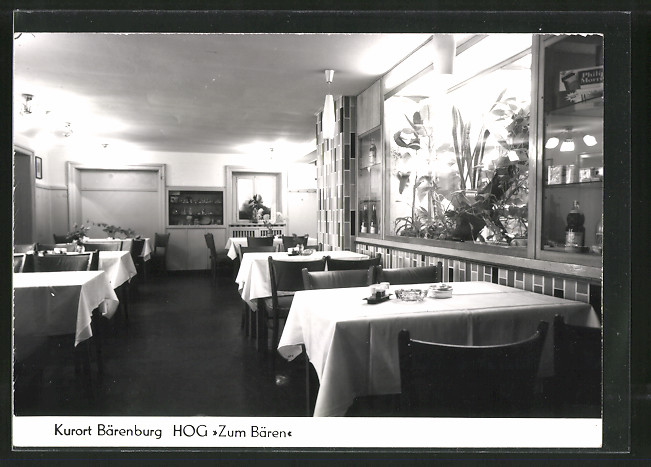 AK Bärenburg, HO-Gaststätte