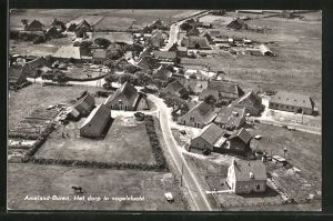 AK Ameland-Buren, Het dorp in vogelvlucht