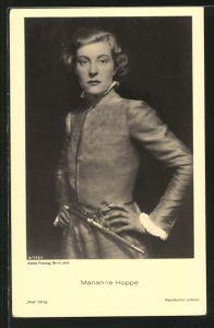AK Marianne Hoppe, Schauspielerin-Portrait