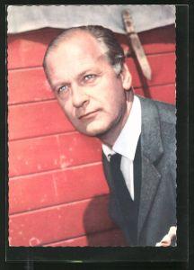 AK Curd Jürgens, Schauspieler-Portrait