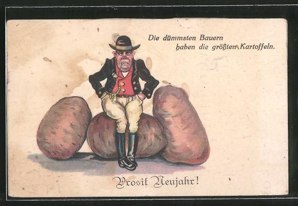 AK Prosit Naujahr!, Die dümmsten Bauern haben die grössten Kartoffeln, Humor