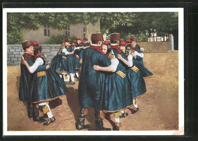 AK Hessische Trachten, Schwälmer Tanz