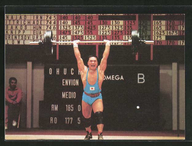 AK Gewichtheben, Ochuchi, Mittelgewicht