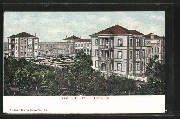 AK Tenerife, Grand Hotel Taoro