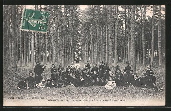 AK Vernon, les valmeux (colonie scolaire de Saint-Ouen)