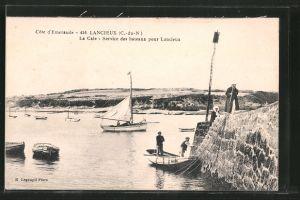 AK Lancieux, la cale, service des bateaux pour Lancieux