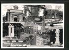 AK Wesel, Haupttor der Zitadelle, Garnison Denkmal, Berlinertor, Denkmal der 11 Schill'schen Offiziere