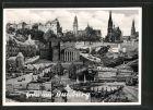 AK Duisburg, Kollage verschiedener Ansichte, Königstrasse, Salvator Kirche, Hauptbahnhof