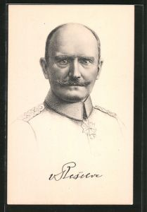 AK General Hans von Beseler, der Eroberer von Antwerpen