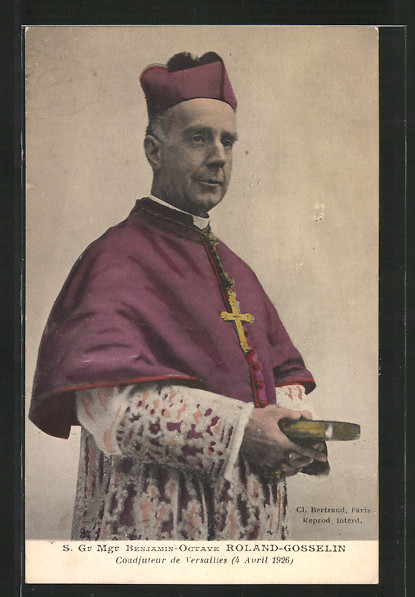 AK Portrait S. Gr Mgr Benjamin Octave Roland-Gosselin