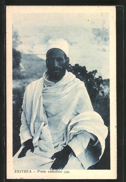 AK Eritrea, Prete cattolico, Katholischer Priester
