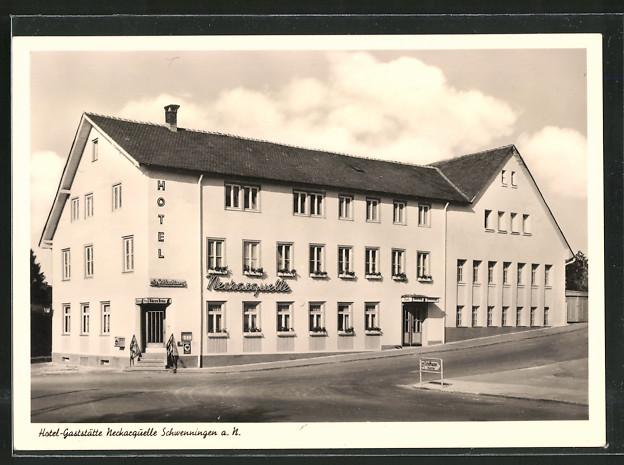 AK Schwenningen, Hotel-Gasthaus Neckarquelle