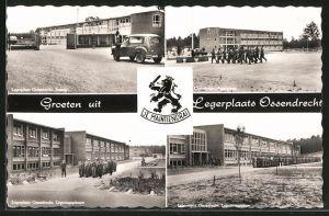 AK Legerplaats Ossendrecht, Appelplaats, Legeringsgebouw, Ingang