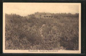 AK Ossendrecht, Gezicht op Dennenheuvel, Panorama