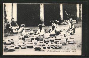 AK Colombo, Potier Cingalais, Singhalesische Töpfer