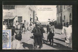 AK Colombo, Mascarade Indienne, Verkleideter Inder bei Volksfest