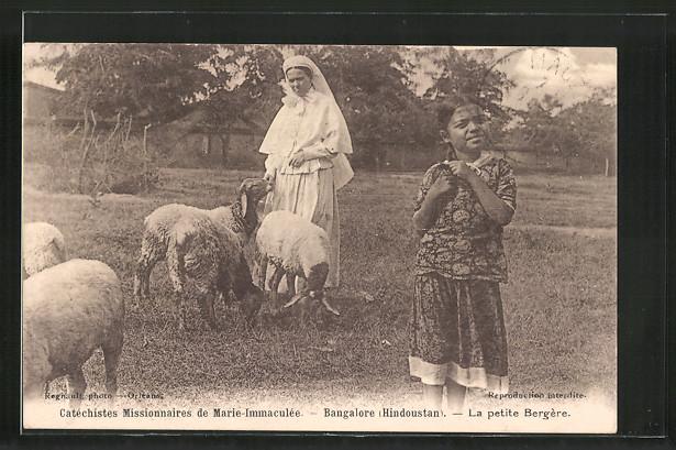 AK Bangalore, Nonne und kleine Schäferin, Hindoustan