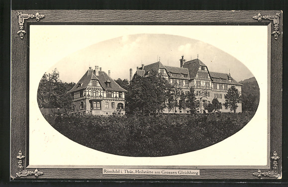 AK Römhild, Heilstätte am Grossen Gleichberg