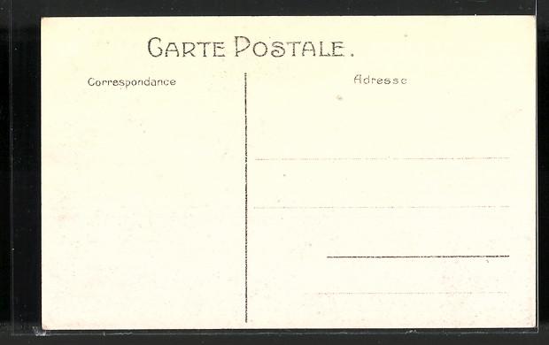 AK Bruxelles, Exposition de Bruxelles, l'incendie des 1910, vue générale 1