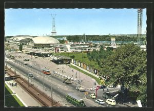 AK Beograd, Ausstellungs-Gelände