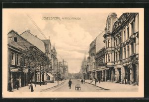 AK Gevelsberg, Blick in die Mittelstrasse
