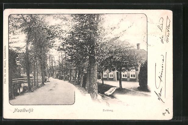 AK Naaldwijk, Strassenpartie: Zuidweg