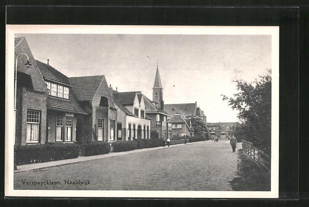AK Naaldwijk, Strassenpartie: Verspeycklaan