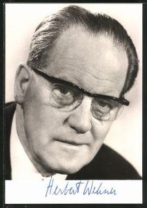AK Herbert Wehner, Vorsitzender der SPD-Bundestagsfraktion