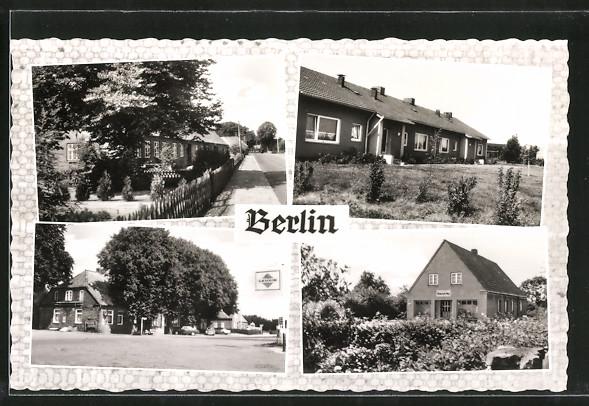 AK Berlin, versch. Ortsansichten