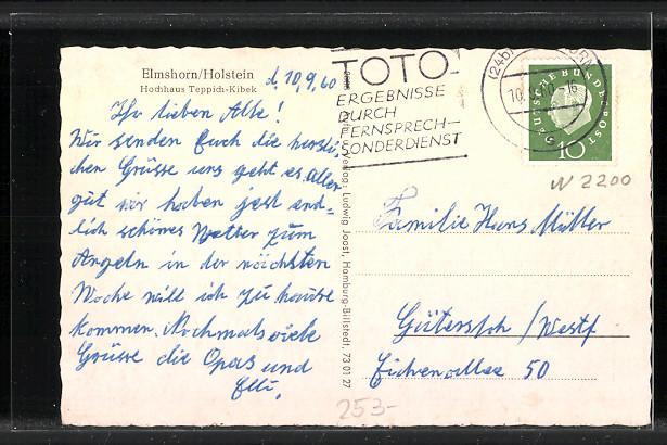 AK Elmshorn, Hochhaus Teppich-Kibek Nr. 7235222 - oldthing ...