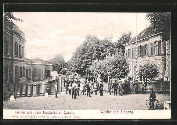 AK Lockstedter Lager, Wache und Eingang