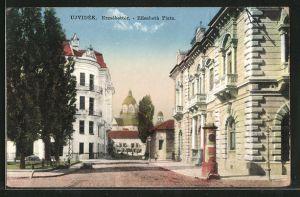 AK Ujvidek, Elisabeth Platz