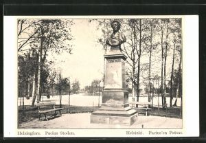 AK Helsinki, Denkmal Pacius'en Patsas
