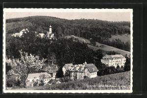 AK Neuhaus, Ortsansicht vom Hügel aus