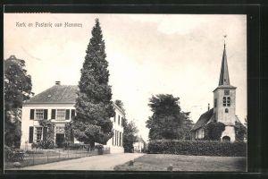 AK Hemmen, Kerk en Pastorie