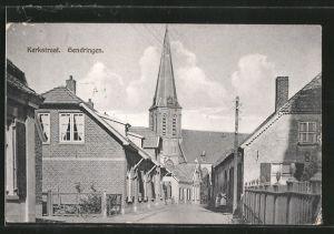 AK Gendringen, Kerkstraat, Kirchenansicht