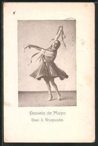 AK Daniela de Mayo tanzt zu Liszt, II. Rhapsodie
