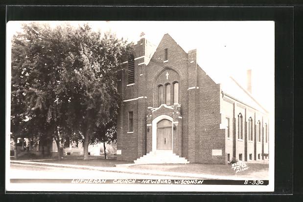 AK Newburg, WI, Lutheran Church, Kirche